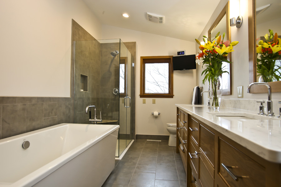 Main and Half Bath Remodel